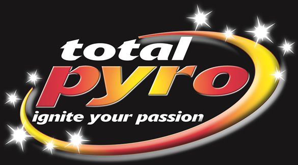 Total Pyro, Firework Specialists – Highly creative fireworks extravaganzas! Logo